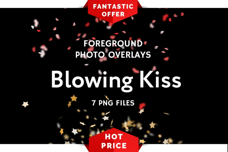 8 Blowing Kisses Photoshop Overlays Blowing Kisses Pictures Etsy