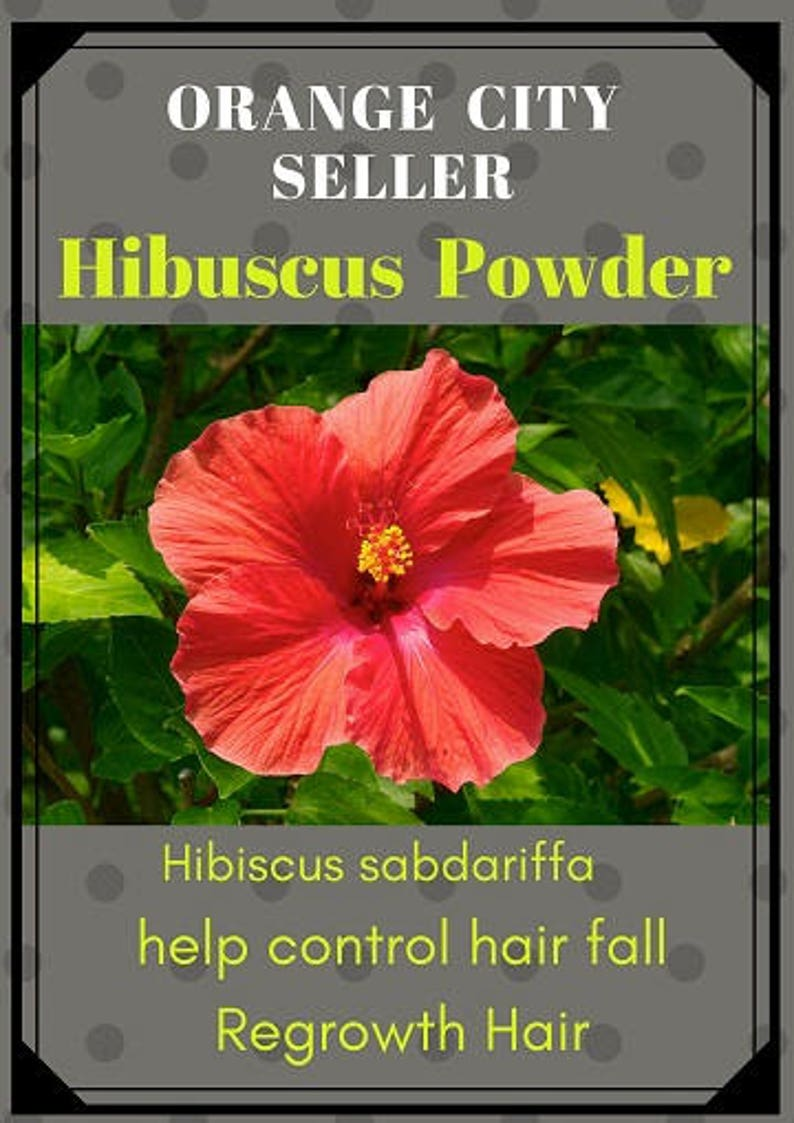 Hibiscus Flower Powder For Hair Growth 100gms 35 Oz Etsy