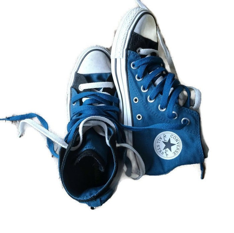 0a77f119e770 Original CONVERSE ALL STAR double lacets et bottes tendance | Etsy