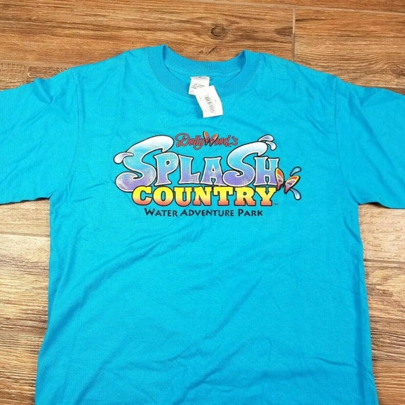 Vintage Dollywood Shirt M Splash Butterfly Dolly P