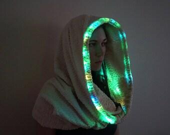 LED-Licht Kapuze