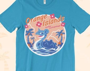 Orange Islands T-SHIRT // Lapras // 90s Nostalgia // Anime // Original 151