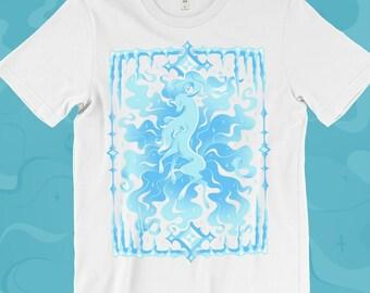 14259575 Alolan Ninetales T-SHIRT // Alolan Form // Ice Type // Winter // Pokemon  Sun Moon // Pokemon Gifts
