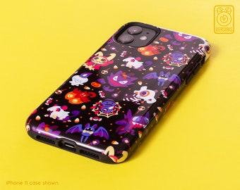 Halloween Monsters PHONE CASE // iPhone & Samsung Galaxy Devices // Ghost Type // Trick Treat // Mimikyu Haunter Litwick Cubone Pumpkaboo