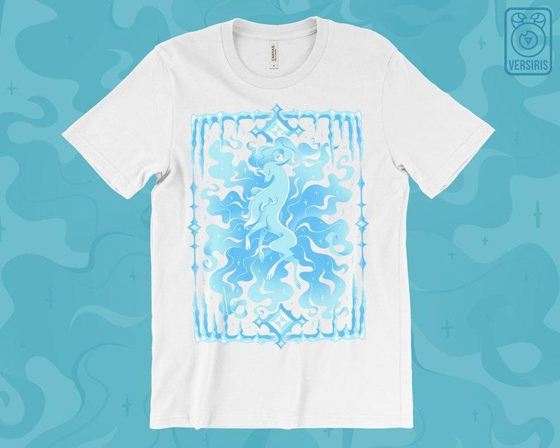 029f497a Alolan Ninetales T-SHIRT // Alolan Form // Ice Type // Winter | Etsy