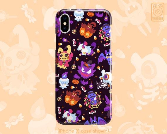 Pokemon Pumkaboo Halloween iphone case