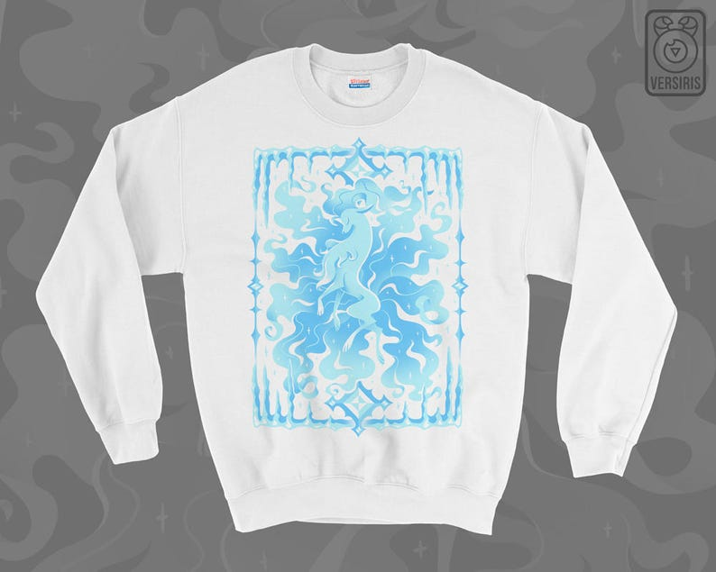 4d958e7c Alolan Ninetales SWEATER // Alolan Form // Ice Type // Pokemon | Etsy