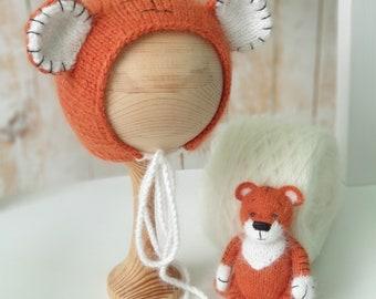 Tiger Bonnet Lamb Unicorn Rabbit Lion Hat Rabbit Hedgehog Romper, Baby Pants Baby Hat Baby Costume Sheep Size 74-98 Dragon