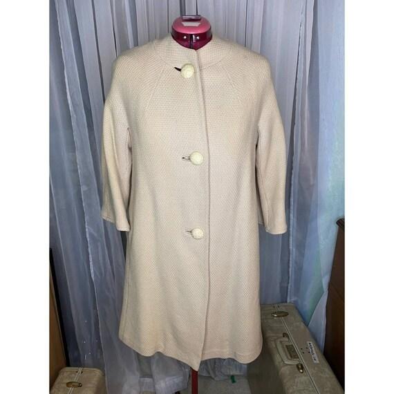 vintage 60s swing coat union made