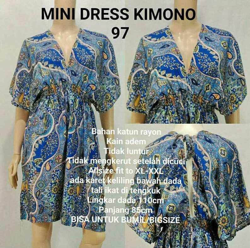 Handmade Bali Dress From Indonesia Etsy