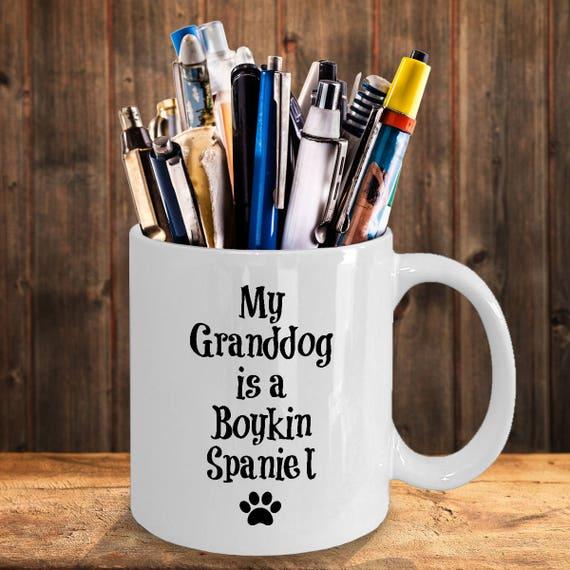 Boykin Spaniel Mug – My Granddog - Funny Dog Lover Coffee Cup Gift, 11 oz