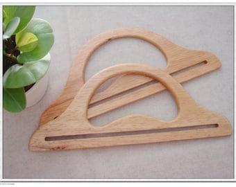 Purse Wooden Handles