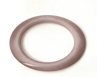 Vintage plastic oval-shaped agate-shaped bracelet