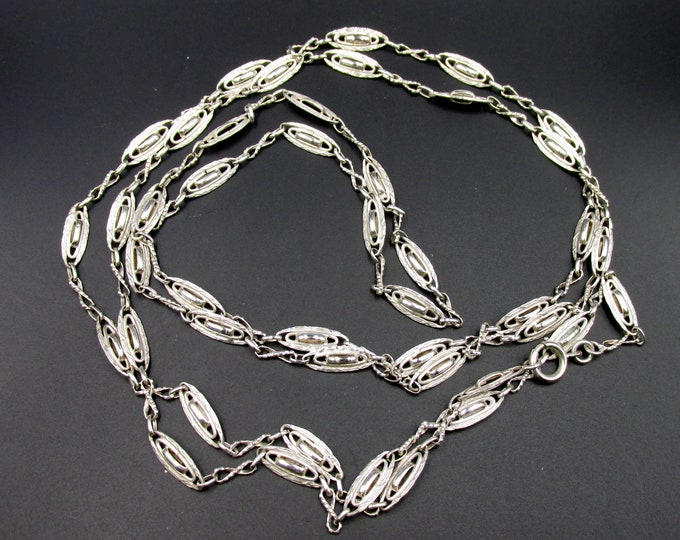 Featured listing image: Superb great French chain era Napoleon III Victorian style in solid silver