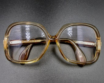 Vintage eyeglasses 70 years of the Austrian brand silhouette smoked pink color MOD 503