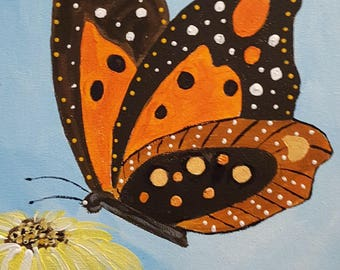 Butterfly - Original Acrylic Painting Direct From the Artist in the USA