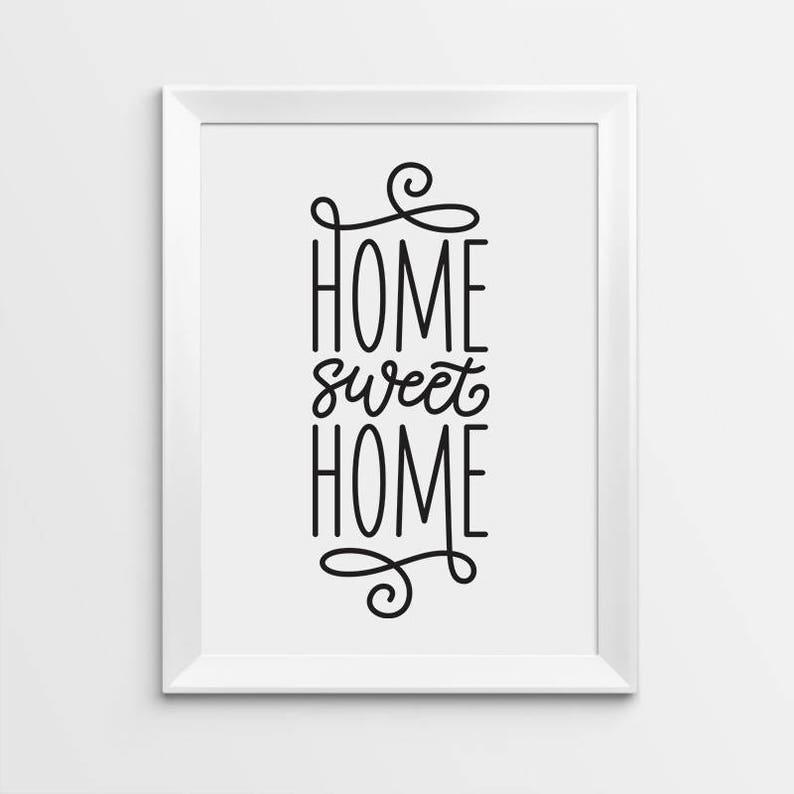 graphic relating to Home Sweet Home Printable identified as Household Cute Residence Print, Property Adorable Dwelling Printable, Printable artwork, Typography wall decor, Dwelling Decor Print, Scandinavian decor, Estimate prints