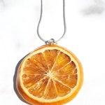 Orange Necklace (Med)