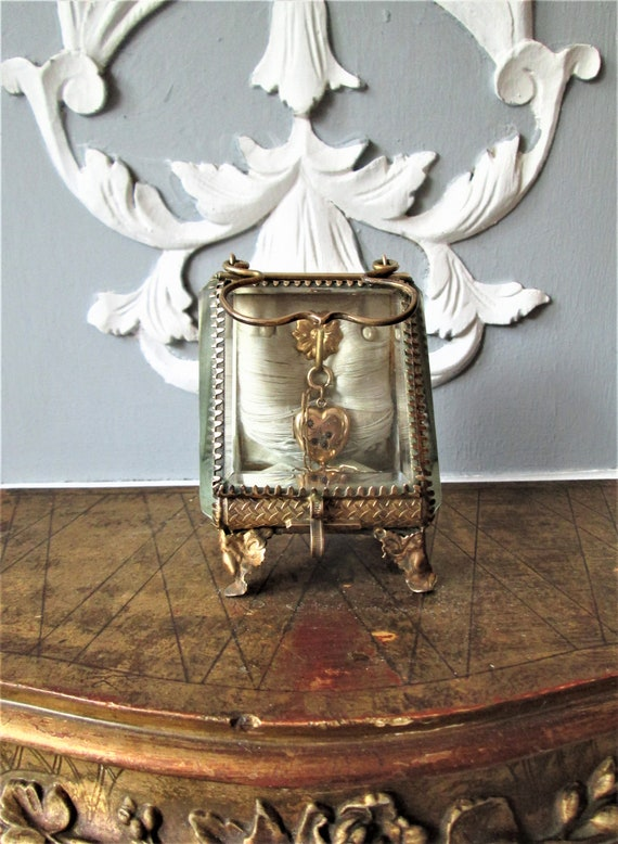 Antique French jewelry holder Napoleon III French