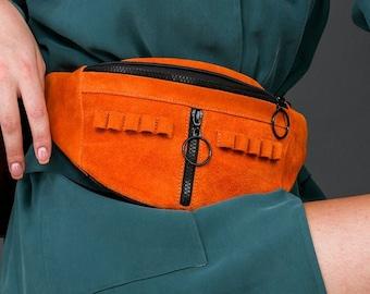 Women's Belt Bags and Fanny Packs, Convertible Crossbody & Belt Bag, Fashionable fanny packs, Waist Shoulder Crossbody Chest Hip Bag
