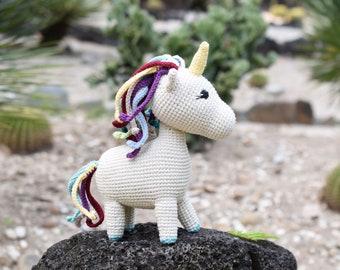Crochet Unicorn, Stuff Unicorn Crochet, Pastel Unicorn Plush, Crochet Unicorn Toy, Baby Handmade Gift, Unicorn Gift, Unicorn Room Decor,