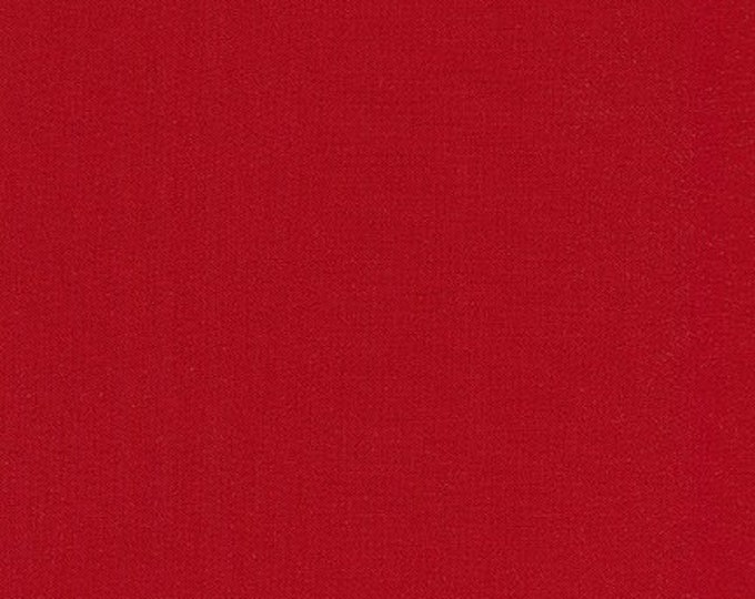 """Featured listing image: KONA - Rich Red - by Robert Kaufman - 100% Cotton 108"""" wide"""