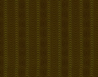 "Farmhouse Christmas - Green Moire Stripe - Kim Diehl 44"""