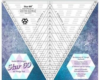 Deb Tucker's Star 60 - 60* Wedge Tool - Studio 180 Design