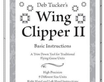 Deb Tucker's Wing Clipper II - Studio 180 Design