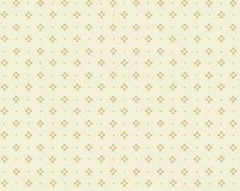 """Farmhouse Christmas - Cream Nine Patch Tonal - Kim Diehl 44"""""""