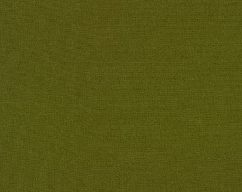"KONA AVOCADO  by Robert Kaufman - 100% Cotton 44"" wide"