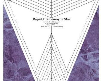 Deb Tucker's Rapid Fire Lemoyne Star - Studio 180 Design