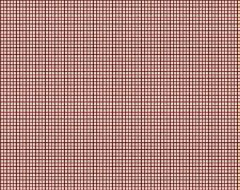 "Repro Red (R3121 Cream) - Anna's Arbor - Sheryl Johnson 44"""