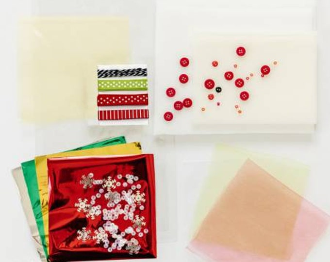 Featured listing image: Jingle All The Way Quilt Embellishment Kit - Kimberbell