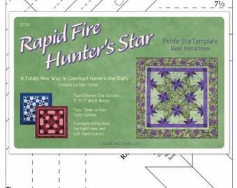 Deb Tucker's Rapid Fire Hunter's Star Petite Star Template - Studio 180 Design