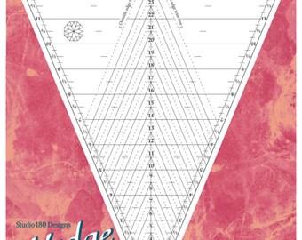 Deb Tuckers Wedge Star - Traditional Kaleidoscope and More! - Studio 180 Design