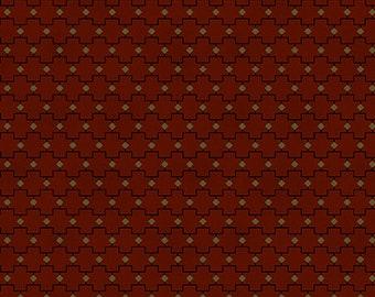 "Farmhouse Christmas - Red Geometric - Kim Diehl 44"""