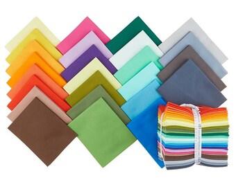 Kona 6 piece Fat Quarter Bundle - Make Your Own Bundle!