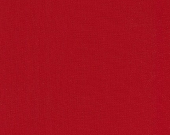 "KONA Wide Back - Rich Red - by Robert Kaufman - 100% Cotton 108"" wide"