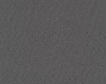 "KONA Wide Back -  COAL - by Robert Kaufman - 100% Cotton 108"" wide"