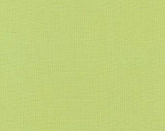 """KONA  GREEN TEA by Robert Kaufman - 100% Cotton 44"""" wide"""