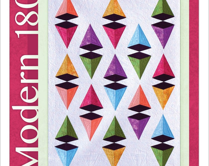 Featured listing image: Modern 180 - Pyramid Power - by Running With Scissors Quilters
