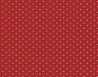 """Repro Red (R3120 Red) - Daphne's Dots - Sheryl Johnson 44"""""""