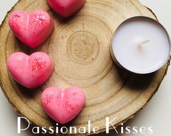 Passionate Kisses Soy Wax Melts - Maximum Scent - Pack of 4