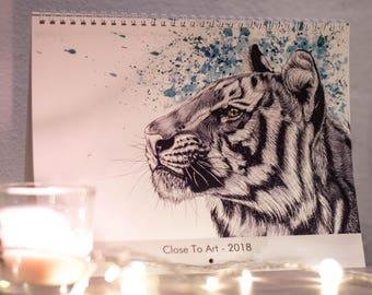 Animal calendar 2018