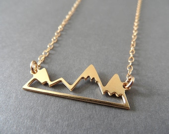WANDERLUST NECKLACE (silver or gold)