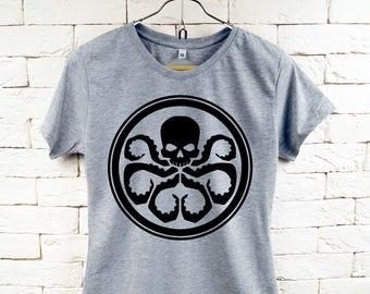 HYDRA-Logo Marvel Cool Grau T-Shirt für Frauen