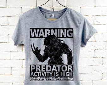 Predator Film Cool grau T-Shirt für Frauen