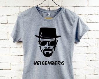 Breaking Bad Heisenberg Walter White Cool Gray T-Shirt For Women