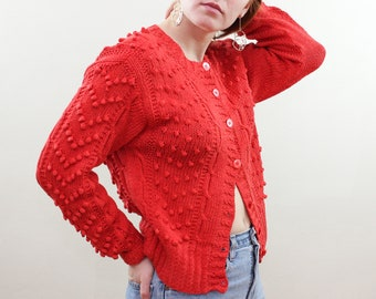 a756327ad17c Red cardigan